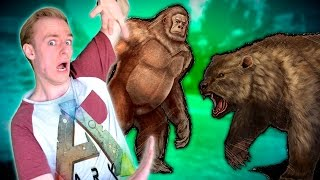 WILDE AAP & DIRE BEAR TEMMEN - ARK: Survival Evolved #47