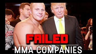 Failed MMA Companies