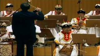 National orchestra of Mongolia