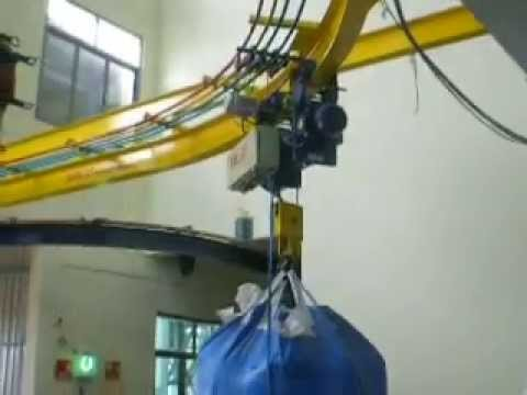 Monorail Crane System At Mysore Crane Youtube
