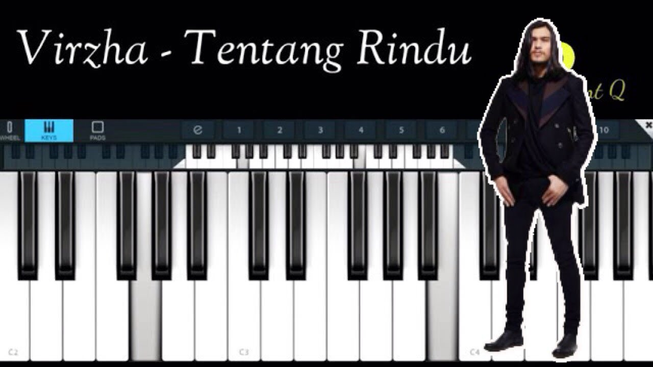 Virzha Tentang Rindu Simple Piano Chords Chordify