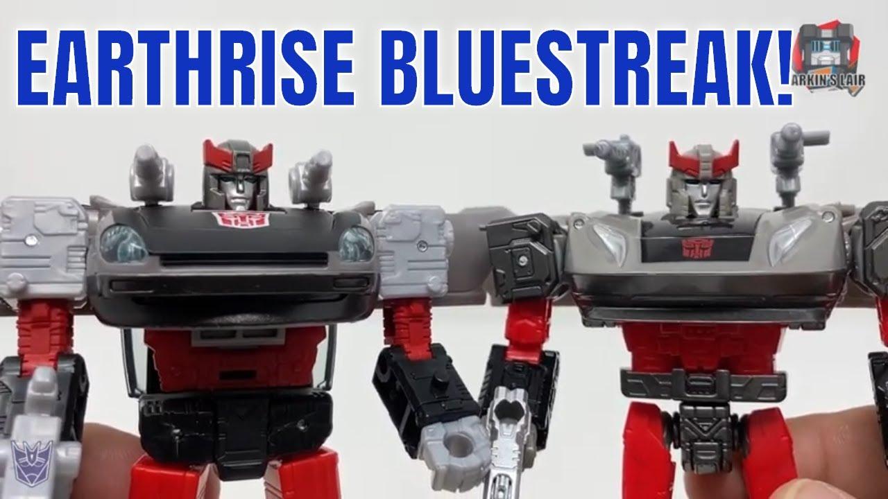 Transformers Earthrise Bluestreak Review WFC-E32 (Retail Release) by Larkin's Lair