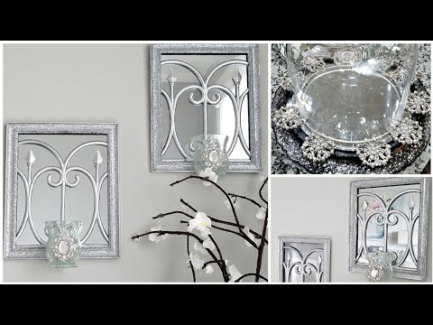 dollar-tree-diy-glam-wall-sconce-and-tray