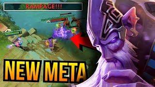 NEW META - Dark Seer Mid Lane Carry Build Rampage 7.07   Dota 2