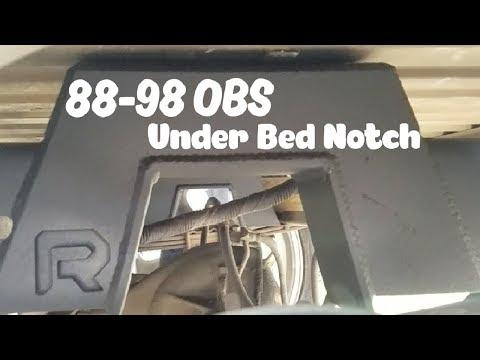 1988-1998 Under Bed Notch Installation Guide Silverado Sierra Reklez Suspension Works
