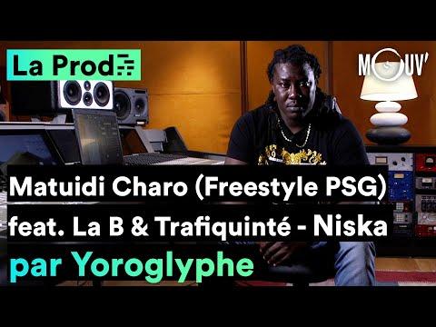 Youtube: Niska –«Matuidi Charo (freestyle PSG)»: comment Yoroglyphe a composé le hit?