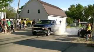 chevy 8.1 burn out
