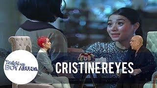 Cristine reveals that she requested for an antagonist role   TWBA thumbnail