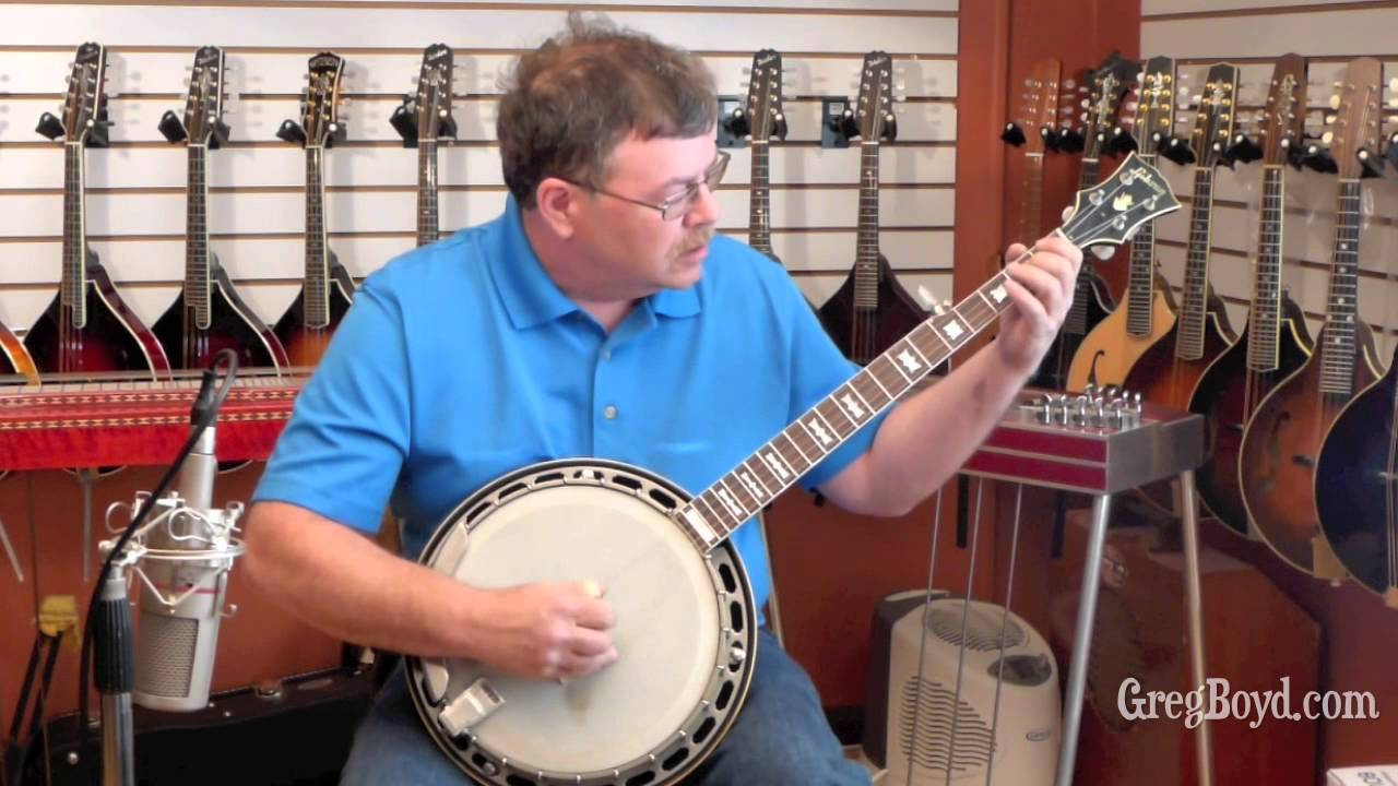 1954 Gibson TB-250 Conversion Banjo with 5-String 1965 Gibson Neck