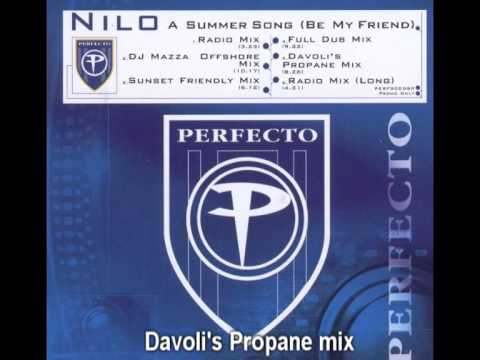 Nilo - A Summer Song (Be my Friend) Davoli's Propane mix