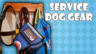 Service Dog Gear and What's In My Bag