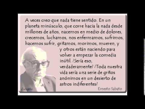 Frases De Ernesto Sabato Del Libro La Resistencia Letras