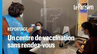 Paris : un centre de vaccination temporaire