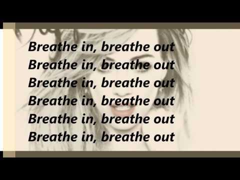Hilary Duff breath in breath out  lyrics