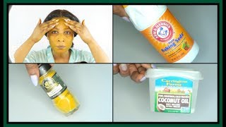BAKING SODA, COCONUT OIL AND TURMERIC CAN MAKE YOU LOOK YOUNGER INSTANTLY  |Khichi Beauty