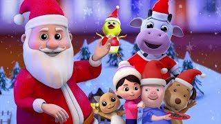 铃儿响叮当 | 圣诞歌 | 圣诞老人为孩子们 | 圣诞节快乐 | 节日歌曲 | Christmas Carols | Jingles Bells In English