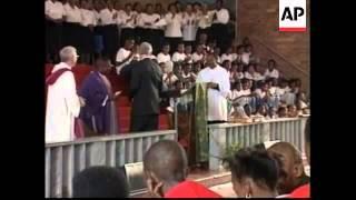 Botswana/South Africa - Visit US President Clinton