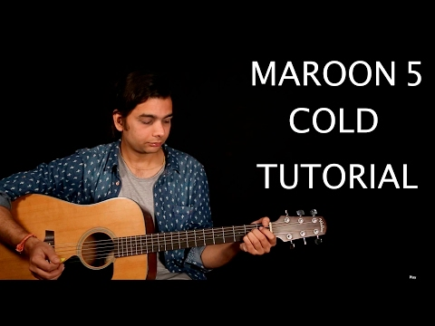 Maroon 5 - Cold ft. Future Guitar Lesson | Guitar Cover | Easy To Play