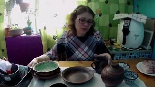 Посуда из красной глины. Обзор подарков и покупок из города Балашов.