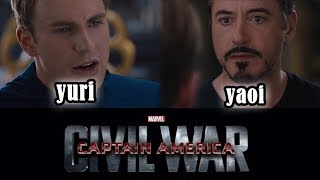 Civil War: Yuri VS Yaoi