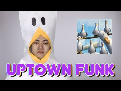 디즈니 & 픽사 캐릭터들이 부르는 Uptown Funk by. Bruno Mars & Mark Ronson   Disney & Pixar impression