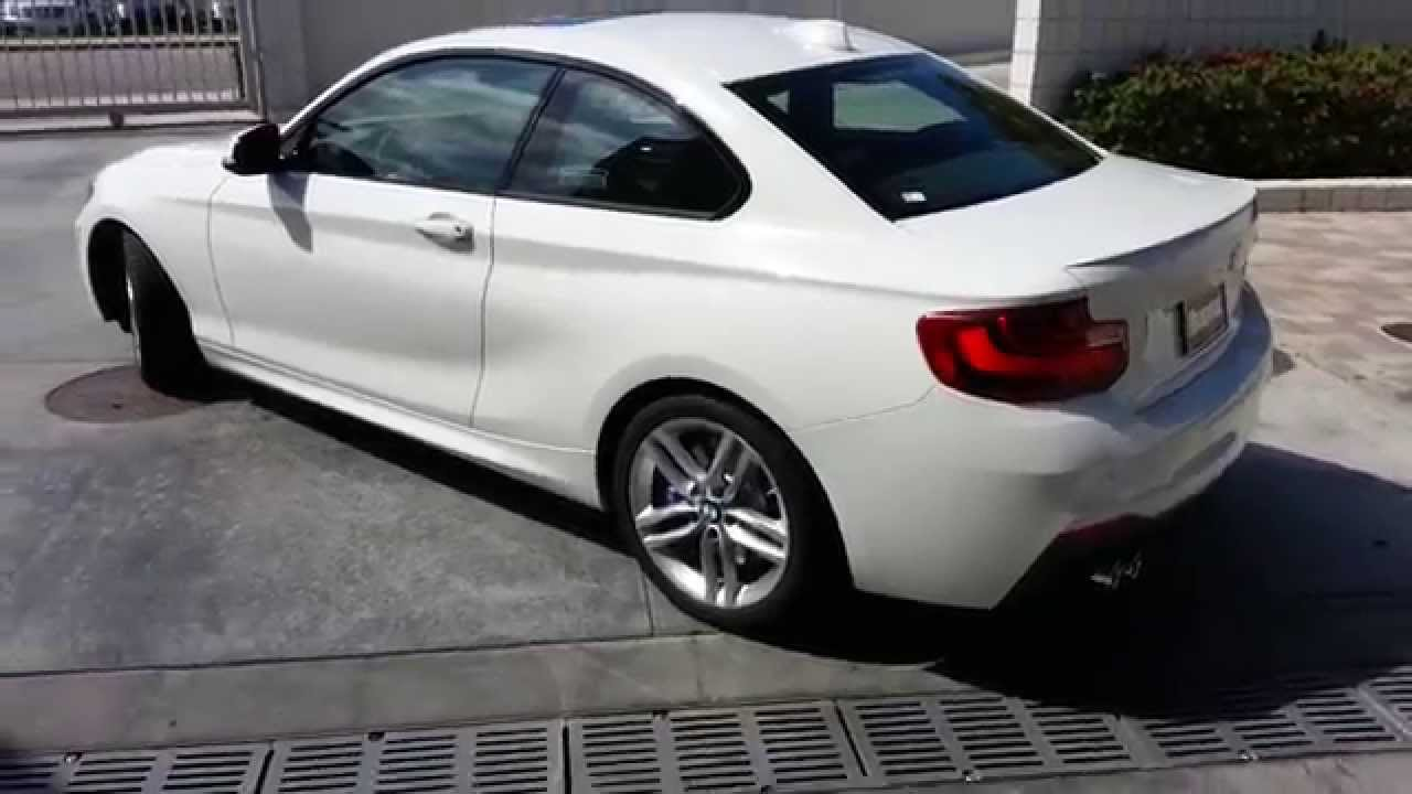 BMW I With M SPORT Package With M Wheels Car Review YouTube - 228i bmw