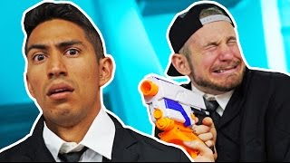 NERF Office Survival Challenge!