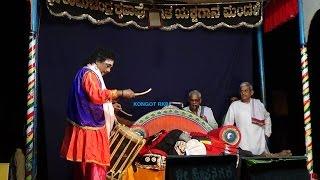 Yakshagana -- Kumbhakarna kalaga - 2 - Ravana dootha - Hasya