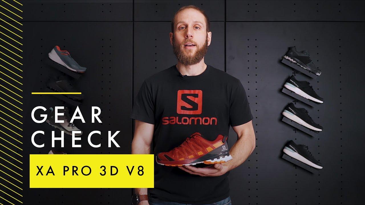 Gear Check Xa Pro 3d V8 Salomon Outdoor Youtube