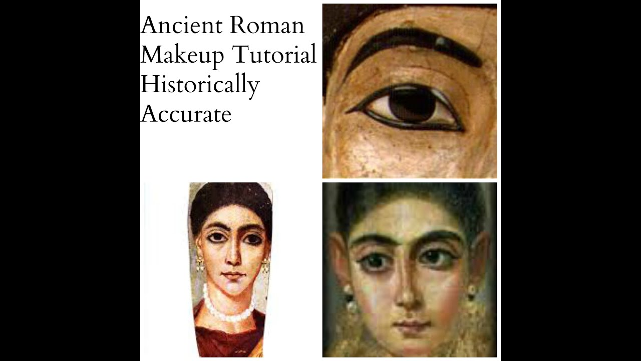 Ancient Roman Makeup Tutorial: Historically Accurate - YouTube