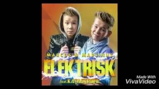 Elektrisk - Marcus & Martinus Ft. Katastrofe (Lyrics - English/Español/Norsk)