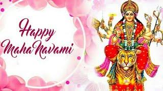 Happy Durga Navami Whatsapp Status Video  Happy Navratri Whatsapp Status  Durga Navami Status Video