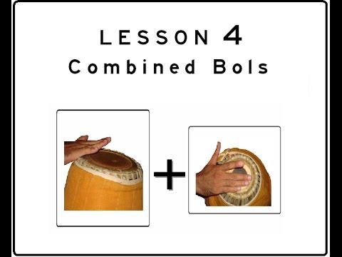 Khol (Mridanga) Lesson 04: Combined Bols