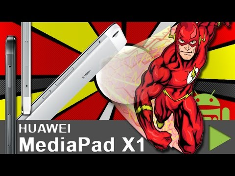 Huawei MediaPad X1 7.0 Flash unboxing - Ein Video ohne Inhalt! - by android tv