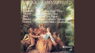 """Sonata in G Minor for Flute, Oboe & Continuo, """"l"""