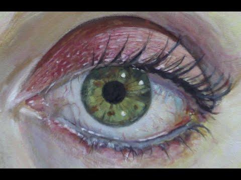 Comment Peindre Un Oeil Réaliste Acrylique Sur Toile Comment