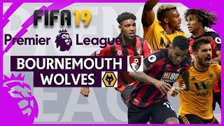 Bournemouth vs Wolves | FIFA 19 Premier League Gameweek 27 Highlights