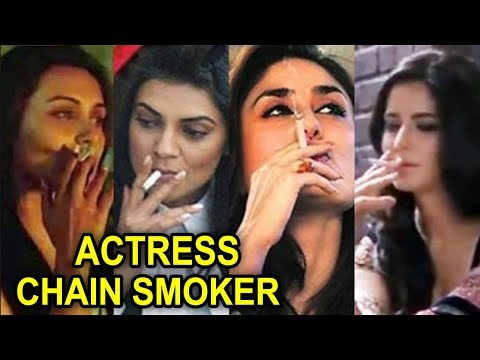 Bollywood Top 10 Actresses Who Smoke In Real Life | Actress Chain Smoker