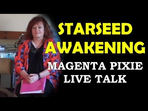 Starseed Awakening Talk: Magenta Pixie speaks at Inspirations PLG, June 2017