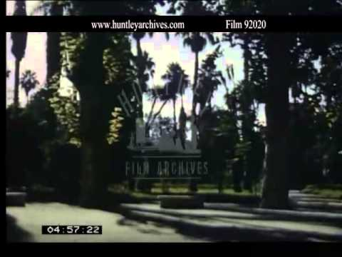 Algeria in the 1950's.  Archive film 92020