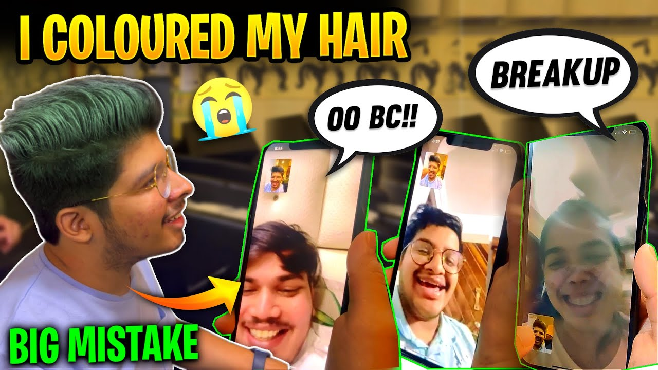 Jash Coloured His Hair😱 || Mom & Girlfriend Reaction || Permanent Hair Colour?- TSG Army Vlogs