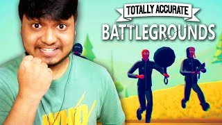 FUNNIEST BATTLE ROYAL YOU EVER SEEN 😂 - Totally Accurate Battlegrounds (Crazy Game)
