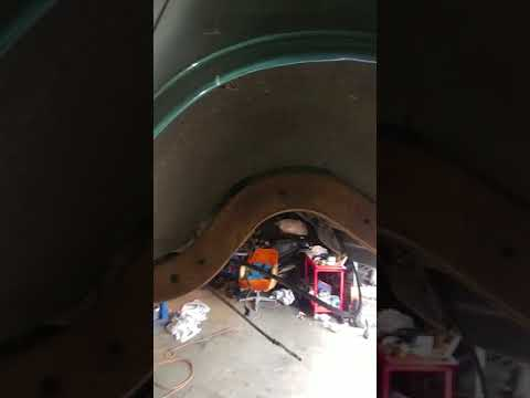 Cleaning the undercarriage on 1996 SS Impala