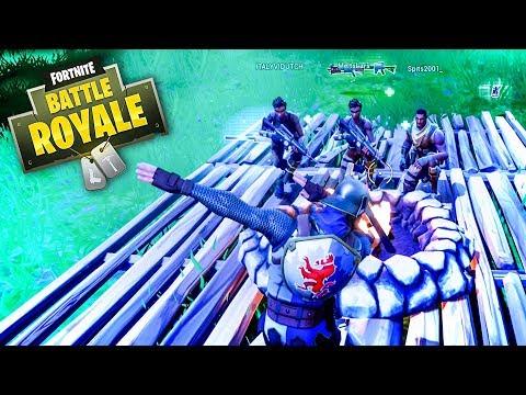DAB BIJ HET KAMPVUUR!! - Fortnite Battle Royale