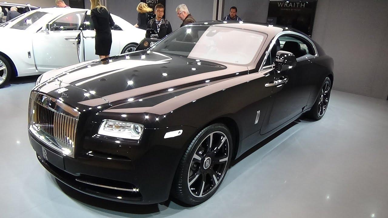 2016 Rolls Royce Wraith Exterior And Interior Iaa Frankfurt 2017