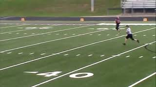 Mason's Touchdown - MHS vs Triway JV Football - September 22, 2018