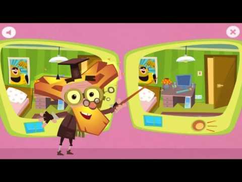 ФИКСИКИ Найди отличия! Развитие внимания и памяти. Мультик игра для детей смотреть онлайн!