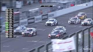 WTCR Japon 2018 Race3 Muller Michelisz Collision