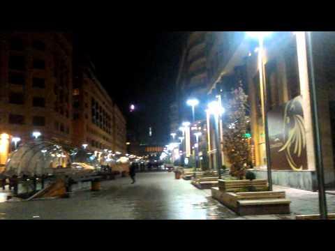 North Avenue Yerevan ,Armenia  Հյուսիսային պողոտա