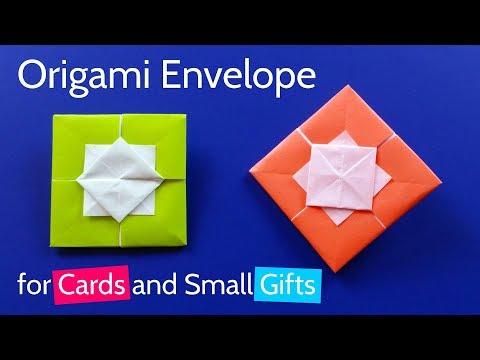 Easy Origami Envelope Letterfold Tutorial - (Simon Andersen) Paper ... | 360x480